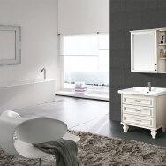 Qingyuan Fortune Decoration Materials Co., Ltd Bathroom Cabinets
