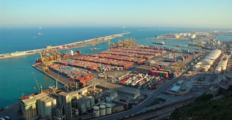 Barcelona container volumes up 30.6% in Jan-Sept